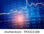 business success and growth...   Shutterstock . vector #593322188