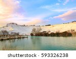 Pamukkale From Park During...