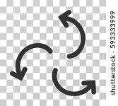 cyclone arrows icon. vector...   Shutterstock .eps vector #593333999