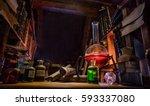 Medieval Alchemist Laboratory...