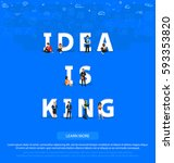 """people on """"idea is king"""" for... 