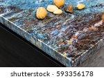 kitchen counter tops of granite ... | Shutterstock . vector #593356178