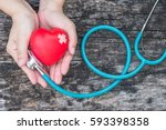 healthcare medical insurance... | Shutterstock . vector #593398358