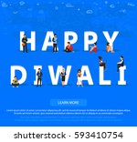 "people on ""happy diwali"" for... 