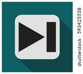 next button vector icon