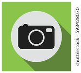 camera vector icon | Shutterstock .eps vector #593428070