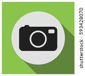 camera vector icon | Shutterstock .eps vector #593428070