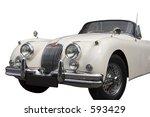 vintage jaguar   convertible  ... | Shutterstock . vector #593429