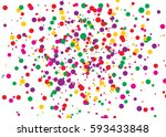 abstract bright colored circles.... | Shutterstock .eps vector #593433848
