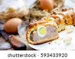 Easter Meat Roll With Quail...