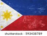 Philippines   Filipino Flag On...