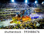carnival rio 2017   miniature... | Shutterstock . vector #593488676