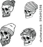 Collection Of Men's Skulls....