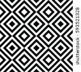black and white abstract... | Shutterstock .eps vector #593521328