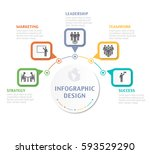 abstract infographic number... | Shutterstock .eps vector #593529290