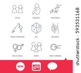 pregnancy  pediatrics and... | Shutterstock .eps vector #593531168