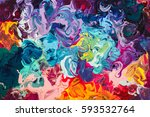 macro close up of different... | Shutterstock . vector #593532764