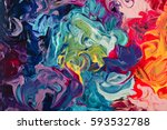 macro close up of different... | Shutterstock . vector #593532788