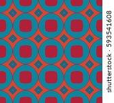 the geometric texture. boho... | Shutterstock .eps vector #593541608