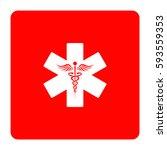 emergency medicine symbol | Shutterstock .eps vector #593559353