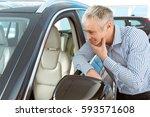looks comfortable. male... | Shutterstock . vector #593571608