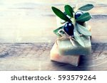 Handmade spa olive oils soap...