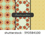 Set Of Three Seamless Pattern...