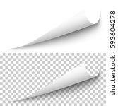 Vector Realistic White Paper...