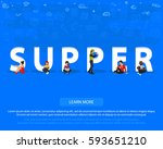"""people on """"supper"""" for web ... 