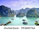 karst landforms in the sea  the ...