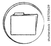 blurred silhouette circular... | Shutterstock .eps vector #593705639