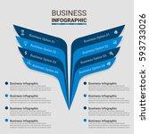 data infographics design vector