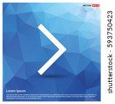 next arrow icon   Shutterstock .eps vector #593750423