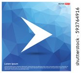 next arrow icon | Shutterstock .eps vector #593764916