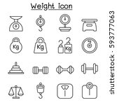 weight  scale  balance  icon... | Shutterstock .eps vector #593777063