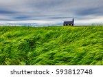 lonely budakirkja christian... | Shutterstock . vector #593812748