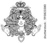 Madonna  Lady Of Sorrow....