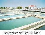 sedimentation unit of water... | Shutterstock . vector #593834354