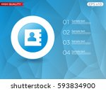 colored icon or button of... | Shutterstock .eps vector #593834900