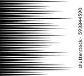 straight  parallel lines... | Shutterstock .eps vector #593844590