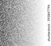 vector halftone square...   Shutterstock .eps vector #593847794