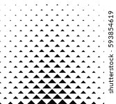 abstract monochrome geometric... | Shutterstock .eps vector #593854619