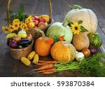 Autumn Pumpkins And Other...