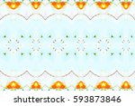 colorful horizontal pattern for ... | Shutterstock . vector #593873846