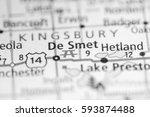 de smet. south dakota. usa   Shutterstock . vector #593874488