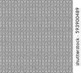 wavy zigzag lines seamless... | Shutterstock .eps vector #593900489