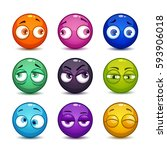 funny colorful glossy balls...