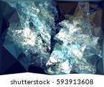 abstract multicolor mosaic... | Shutterstock . vector #593913608