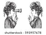 Vector Illustration Of Vintage...