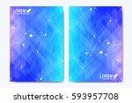modern vector template for...   Shutterstock .eps vector #593957708